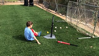 Boy's Baseball Blunder - Video