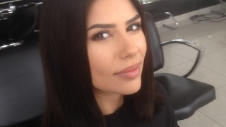 How to cut one length haircut 2017 by top stylist Amal Hermuz - Video