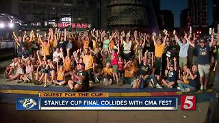 Stanley Cup Final Collides With CMA Fest - Video