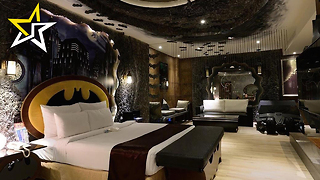 Relax Like Your Favorite Character In These Superhero-Themed Hotel Rooms - Video