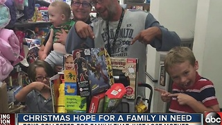 Christmas hope for a family in need - Video