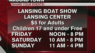 Lansing Boat Show comes to Lansing this weekend - Video