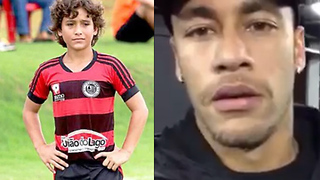 Neymar is This 12-Year Old Soccer Prodigy's BIGGEST Fan - Video