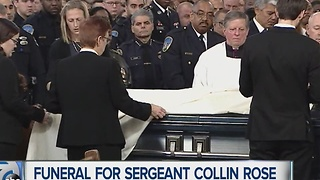 Funeral for Sergeant Collin Rose - Video
