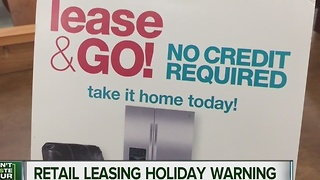 Consumer Reports: Retail leasing holiday warning - Video