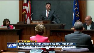 Erie County lawmakers question NFTA over ride sharing fee - Video