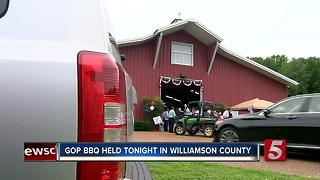 Williamson County GOP Holds Barbecue, Straw Poll - Video