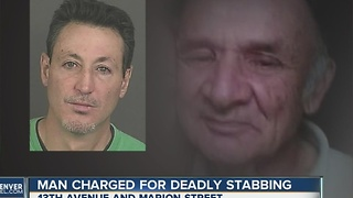 Man charged for deadly stabbing - Video