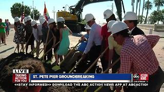 St. Pete Pier Groundbreaking Ceremony - Video