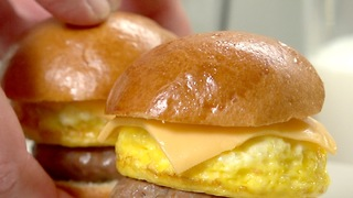 Breakfast Sliders - Video