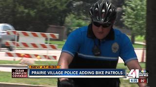Prairie Village PD to launch bike officer unit - Video
