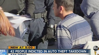 Lengthy auto-theft operation results in indictments, seizure of drugs, weapons and vehicles - Video
