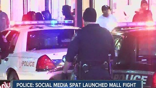 Police say social media argument over boys launched Castleton Mall fight - Video