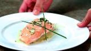 Pan-Steamed Alaska Sockeye Salmon - Video