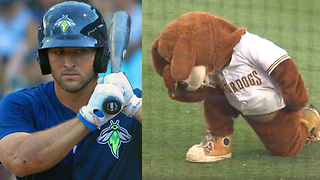 Tim Tebow Gets TROLLED by Opposing Team All Game Long - Video