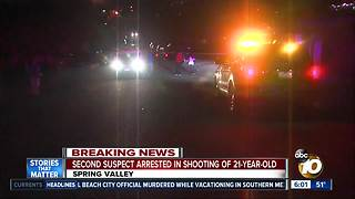Second suspect arrested in shooting of Spring Valley man - Video