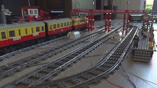 This Lego train layout will blow your mind - Video