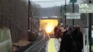 Katonah Track Fire Causes Delays to Metro North Service - Video