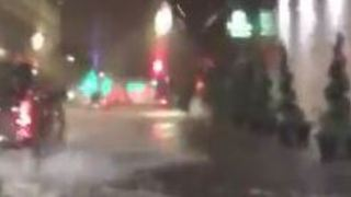 Flooding Hits Downtown Houston After Heavy Rain - Video