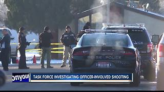 One injured in Boise officer-involved shooting