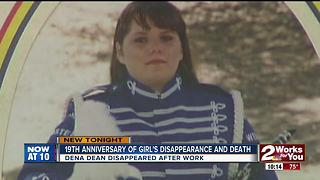 19th anniversary of Dena Dean's death - Video