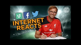 Jurgen Klopp announced as Liverpool manager! | Internet Reacts - Video