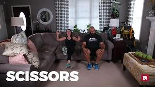 TV commercial break workout with Elissa the Mom | Rare Life - Video