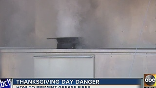 Thanksgiving Day danger with your dinner - Video