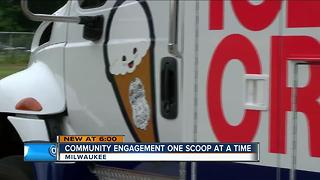 MPD debuts it's ice cream truck - Video