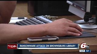 Ransomware attack on Brownsburg Library - Video