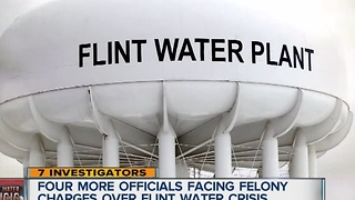 New charges in Flint water crisis