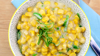 Quick & easy creamed corn recipe - Video