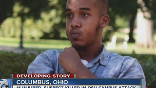 Terror attack at Ohio State University - Video