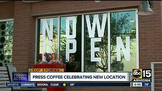 Press Coffee offering three days of free coffee, no strings attached! - Video