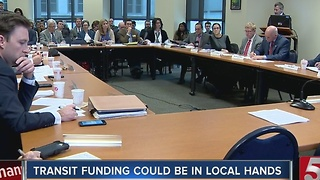 Haslam Calls For Local Transit Funding Option - Video