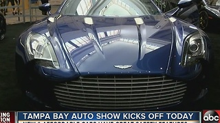 Tampa Auto Show shows off the affordable, and the incredible - Video