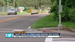 State calls for safety fixes around Brandon High - Video