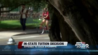 Arizona regents to continue offering in-state tuition to DACA students - Video