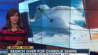 Search over for overdue skiers - Video