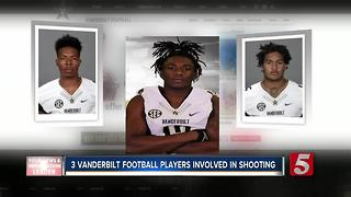 Vanderbilt Football Players Injured In Target Shooting - Video
