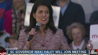 Florida Gov. Rick Scott and South Carolina Gov. Nikki Haley to meet with Trump on Thursday - Video