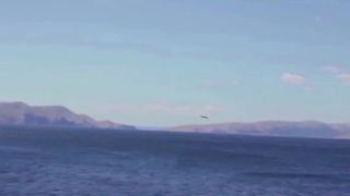 Unidentified low-flying object over Pag, Croatia - Video