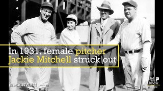 Meet the 17-year-old girl who struck out Babe Ruth - Video