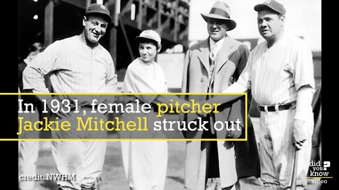Meet the 17-year-old girl who struck out Babe Ruth