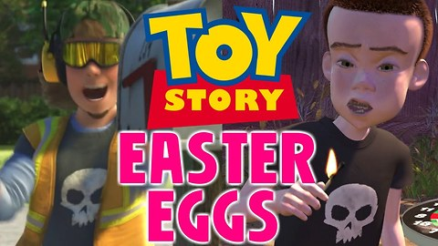 Every TOY STORY Easter Egg