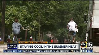 Staying cool in the summer heat - Video