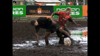 Finnish Swamp Soccer - Video