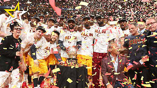 Cleveland Cavaliers Win The 2016 NBA Title And Break Out The Champagne - Video