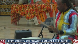 Bakersfield MLK Center celebrates Kwanzaa - Video