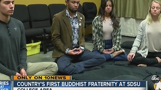 Country's first Buddhist fraternity - Video